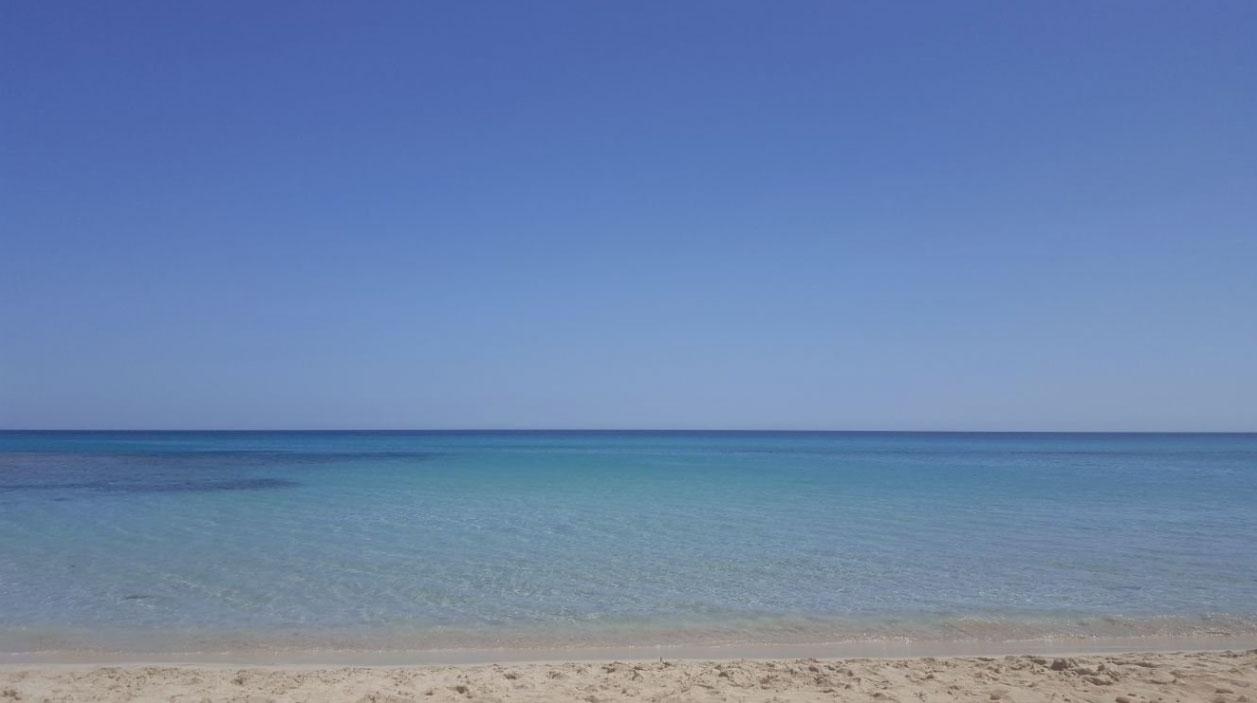 L'incantevole spiaggia di San Lorenzo